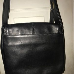 Coach Bags - Black GENUINE LEATHER Coach Should Bag